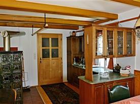 Plně vybavená kuchyňská linka