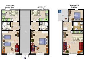 Apartment 5,6, 8