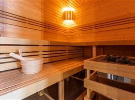 Wellness centrum - sauna