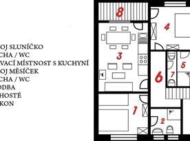 Plán Apartment U Anděla