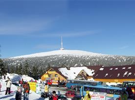 blízké středisko Praděd  - skibus