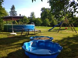 bazének a pískoviště
