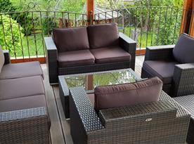 Relax na zastřešené terase