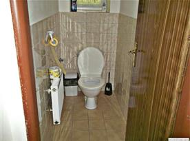 toaleta přízemí