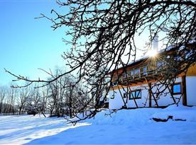 Chalupa Ve stodole v obci Zlatá Olešnice