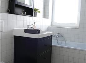 Apartmán B - koupelna s toaletou