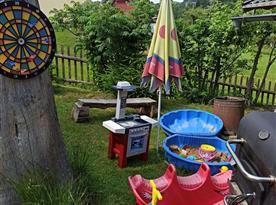 Hrací místo pro dětičky