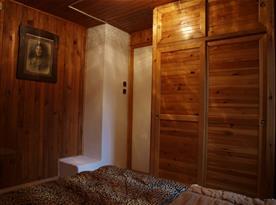Třetí podkrovní ložnice se dvěmi postelemi