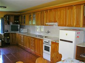 Prostorná kuchyně