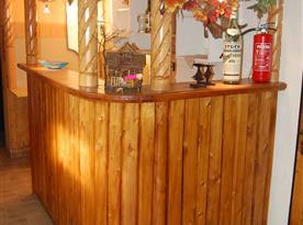 Bar u vinárny v suterénu objektu
