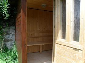 Pohled do sauny