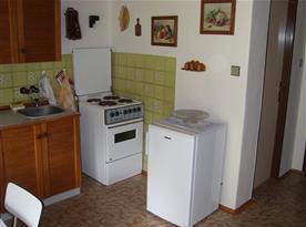 kuchyně místo pro vaření