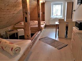 4 lůžkový apartmán s možností přistýlky