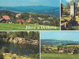Pohlednice obce Jílové u Držkova