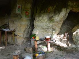 Rumcajsova jeskyně na Bradě