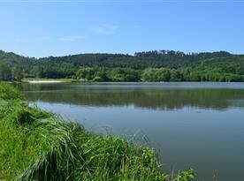 Rybník Oborského s pláží