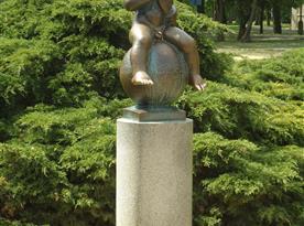František, symbol Fr. Lázní