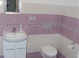 Koupelna se sociálním zařízením