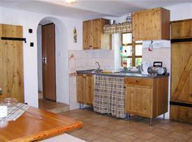 Kuchyňka ve společenské místnosti