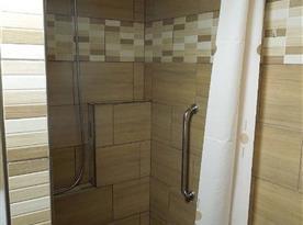Nově rekonstruovaná koupelna