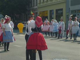 září- krojované hody v Břeclavi
