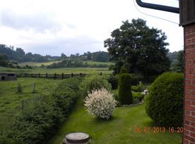 Zahrada s výhledem do okolí