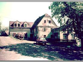 Objekt - bývalá restaurace před rekonstrukcí r.1982