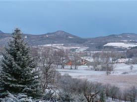 Okolí - výhled v zimě