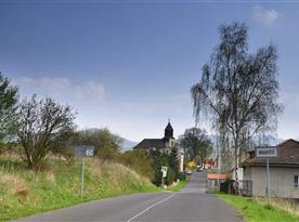Příjezd do Hradiště od Lbína