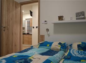 Apartmán Emily - pokoj (velká manželská postel)
