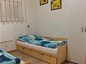 Apartmán Emily - pokoj (oddělené postele+přistýlka)