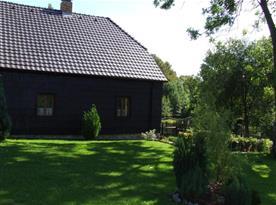 Zahrada s chalupou