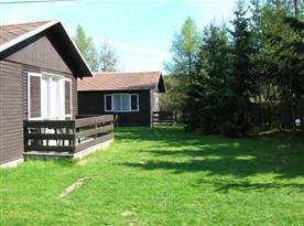 Pohled na bungalovy s možností celoročního využití
