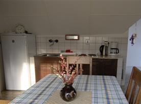 Kuchyně apartmánu Standard