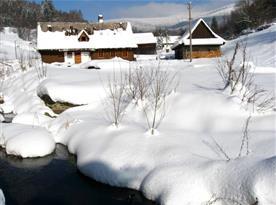 Prostředí v zimě