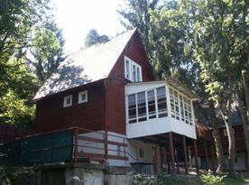 Celkový pohled na chatu