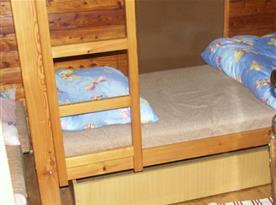 Ložnice C s patrovou postelí