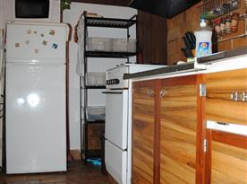 Chata Lucie - plně vybavená kuchyňka