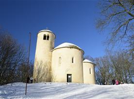 Rotunda sv. Jiřího na hoře Říp