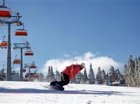 V okolí ideální podmínky pro lyžování