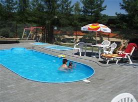 Bazén v rekreačním středisku
