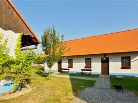 Chalupa Slovácká v obci Bukovany