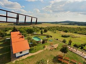 Pohled na areál Bukovanského mlýna