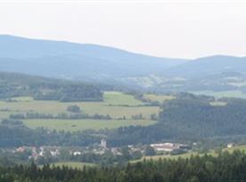 výhled na Šumavu - Čkyně