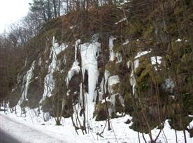 Zimní prostředí vhodné k turistice i běžkování