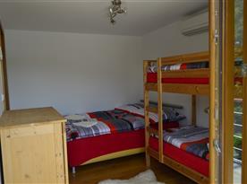 Čtyřlůžková ložnice