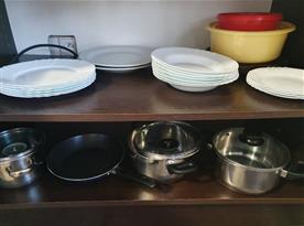 vybavení - každý apartmán