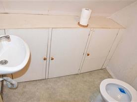 WC v prvním patře