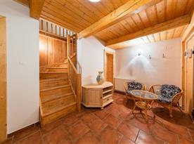Společenská místnost se saunou