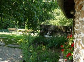 Venkovní posezení na zahradě